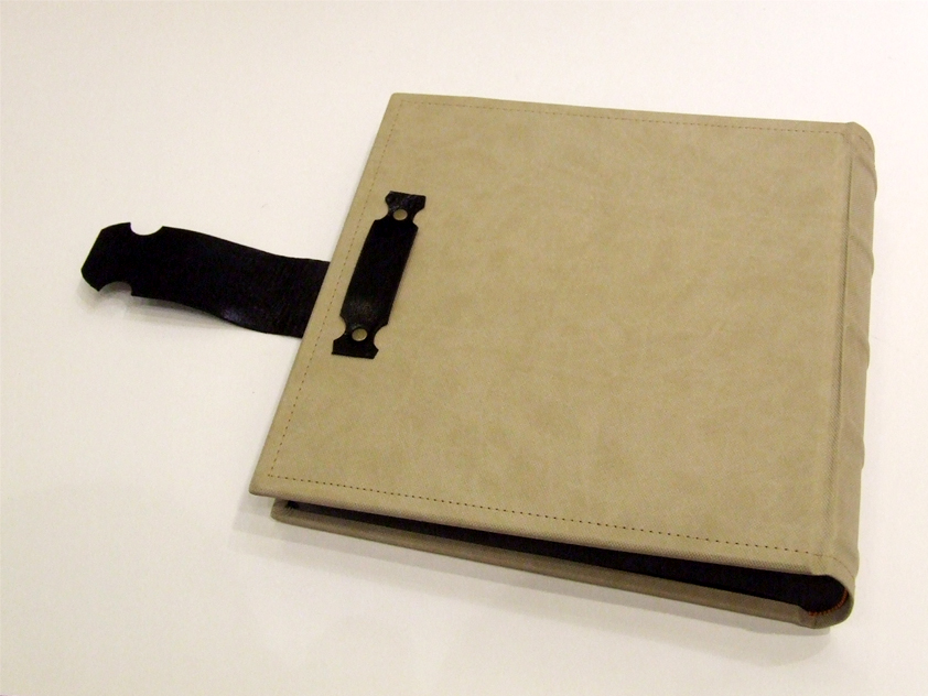 Photo Album hard leather cover