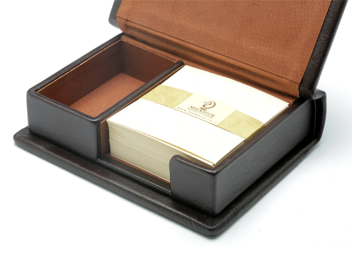 Box for paper  and memo clips